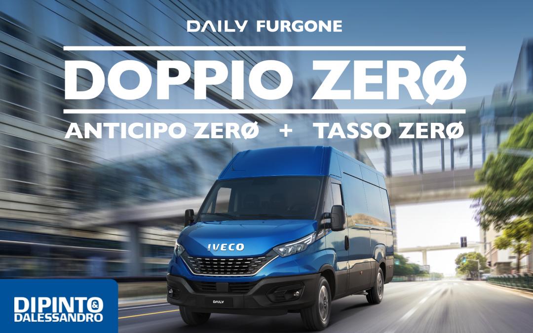"""Nuovo IVECO Daily """"DOPPIOZERO"""""""